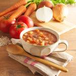 しっかり満足トマトスープ通販購入レビュー!1袋97㎉の低カロリー美穀菜シリーズ