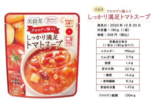 ブルックストマトスープ通販の栄養成分表示